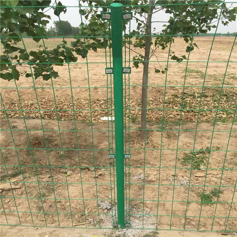 高速公路护栏 浸塑围网 工地护网