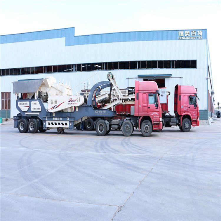 北京时产100方建筑垃圾破碎站 小型复合式嗑石机报价