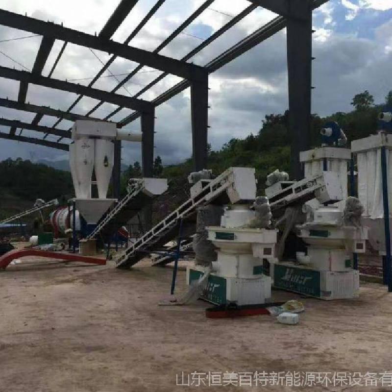 木屑颗粒机|秸秆煤炭|锯末|秸秆煤炭造粒机|恒美百特生物制粒设备