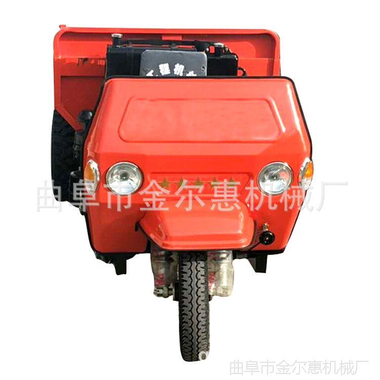 新款自卸柴油三轮车 生产厂家三轮车后翻斗高低速农用建筑三马子