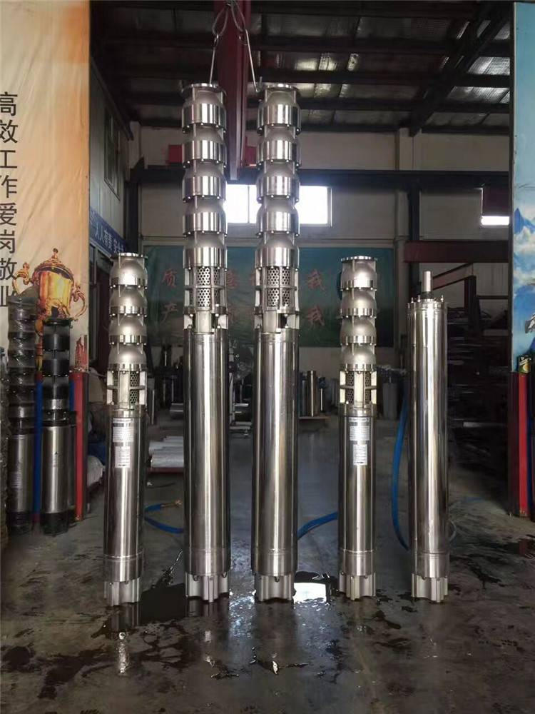 热水耐腐蚀白钢泵_不锈钢耐高温深井泵选型_耐高温潜水泵