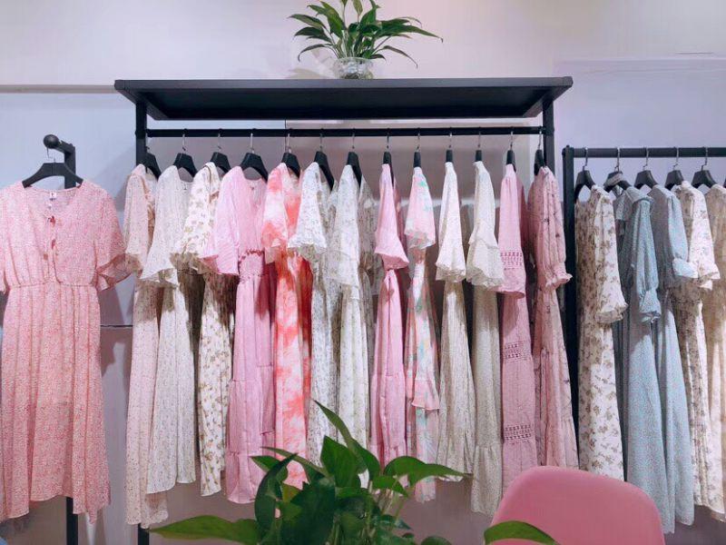 广州 波西米亚19夏 仙女裙 白马十三号沙河批发市场