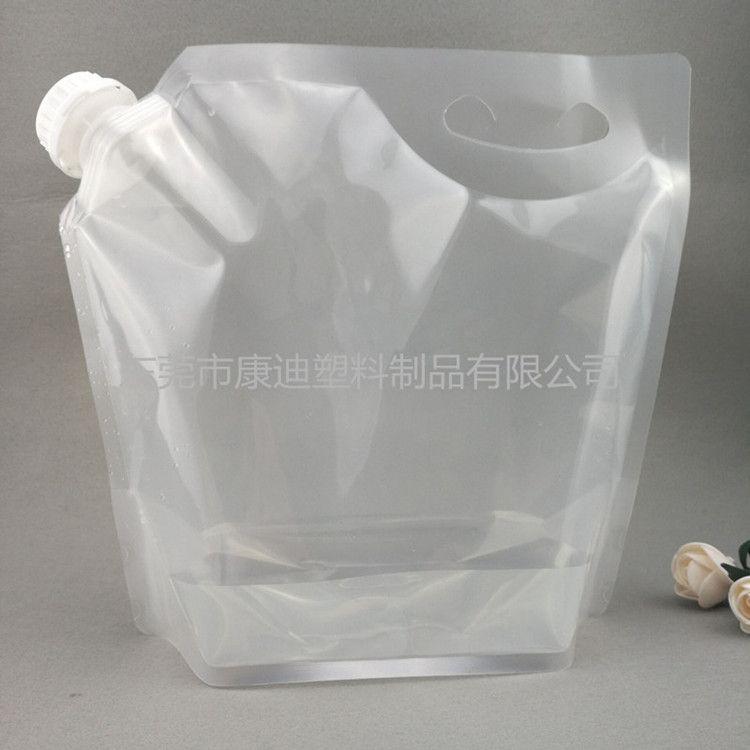 厂家定做大小带嘴包装袋 5L手提自立袋现货 复合材料包装制品