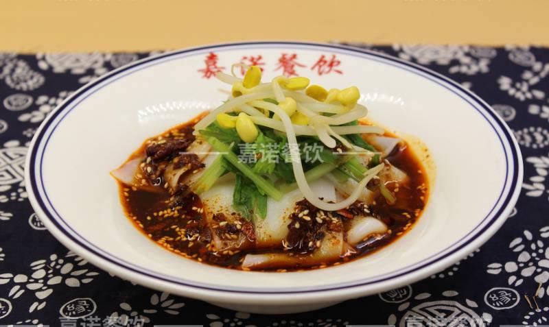汉中热米皮培训 学习陕西小吃凉皮米皮做法配方