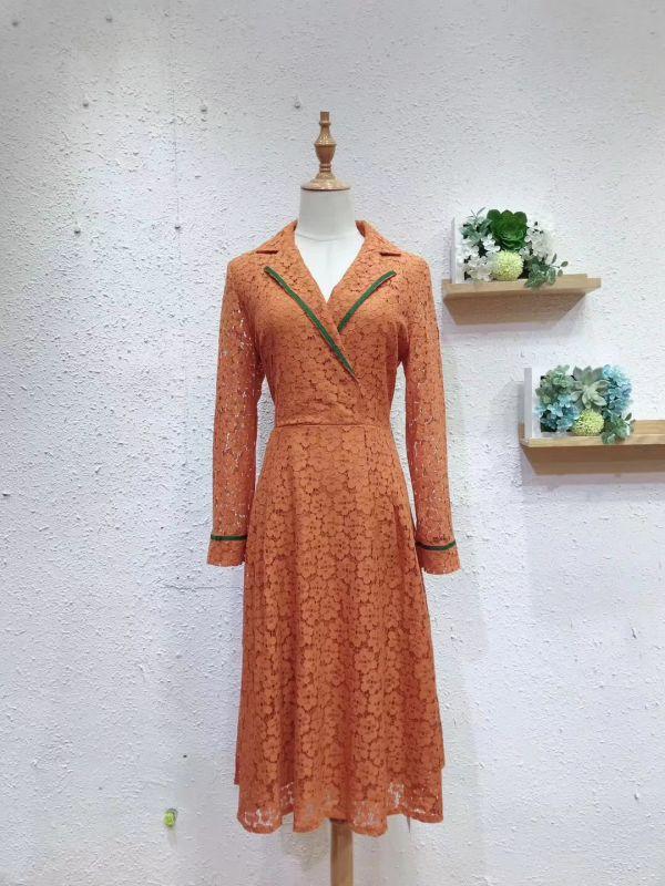 广州 舒丽装点连衣裙19夏 品牌女装尾货批发 白马十三行沙河批发市场