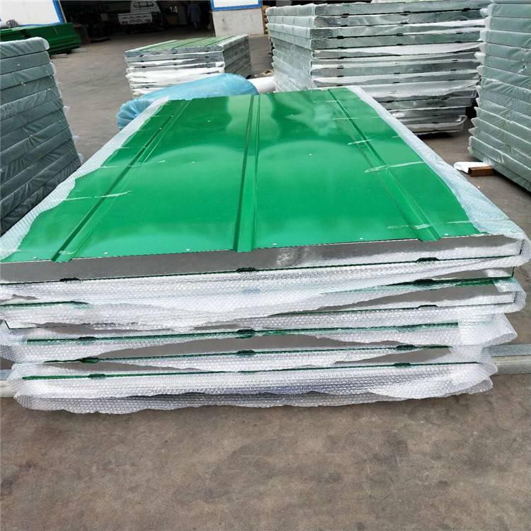 声屏障加工、绿色夹心泡沫板隔音板、声屏障各种尺寸订制