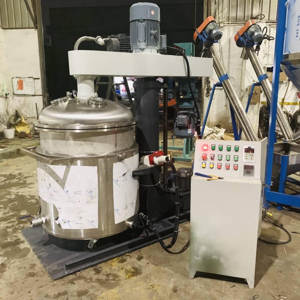 广东亿邦直销真空分散机美缝剂专业生产设备100L消泡搅拌机