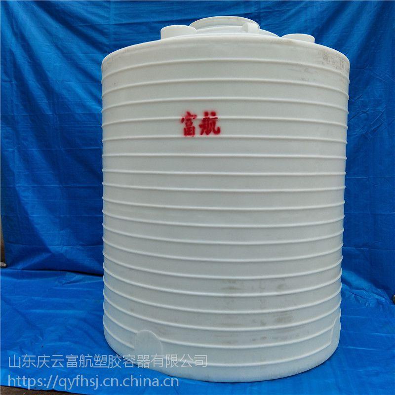山东鄄城8立方储水塑料罐 8吨pe塑料桶厂家供应