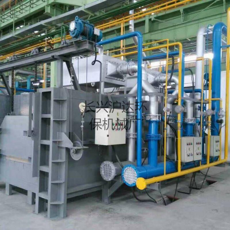 天然气模壳焙烧炉燃气式锻打加热炉天然气锻造炉硅溶胶模壳炉