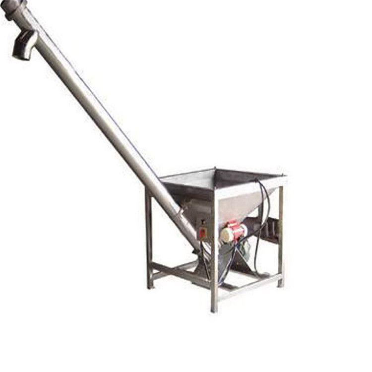 20管径不锈钢螺旋输送机   加工定做筒上料机式