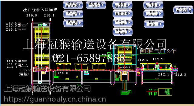 上海冠猴酱卤制品MES排产系统导入自动化控制生产
