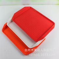 厂家低价销售长方形塑料快餐盘 酒店餐盘 餐厅塑料盘  塑料托盘