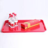 新亚专业生产长方形托盘 塑料盘 光面盘子批发