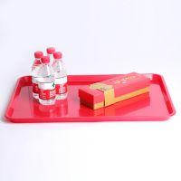 新亚专业生产长方形托盘 塑料盘 光面盘子
