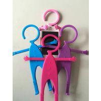 懒人手机支架 懒人家居硅胶手机支架 浙江台州亿家喜生产多功能硅胶人形支架