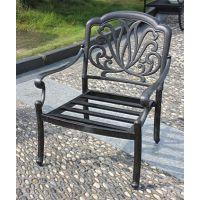 三亚舒纳和户外铸铝桌椅 金属户外家具 花园铸铝桌椅