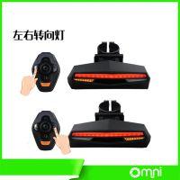 捷安特山地车自行车遥控转向USB充电智能尾灯警示灯单车配件装备