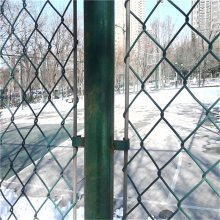 铁丝钩编网 镀锌勾花网现货 动物园围网