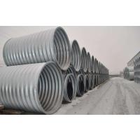 中泰信直供 河南钢波纹涵管施工 镀锌波纹钢管型号 不锈钢排水排污管