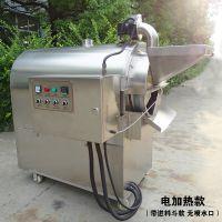 炒货技术学习炒货机细节图片 南阳东亿不锈钢滚筒炒锅食品加工做法