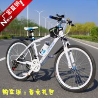 厂家直销宝马山地车自行车21速24速27速双碟刹批发礼品活动促销车