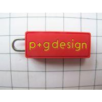 同创厂家供应pvc软胶滴塑卡通拉链头来图来样订做