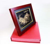 创意礼品相框 浮雕金雕画像框 立体加厚工艺品相框 有中空空间