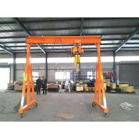 深圳市龙门架起重架,电动葫芦龙门架设计规格