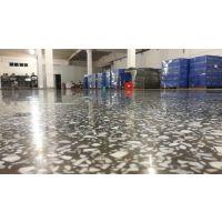 南宁明阳工业区水磨石翻新、水磨石起灰处理、车间地面固化