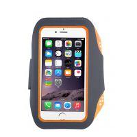 可指纹唤醒运动跑步IPHONE7手机臂带指纹解锁苹果手机莱卡臂包