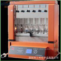 上海纤检SZC-101六管定时自动脂肪测定仪.SZC-D六管脂肪测定仪