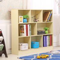 学校教室专用简约现代书柜创意书架自由组合书橱简易收纳儿童储物柜置物架