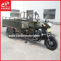出口定做SUPER APSONIC宗申动力汽油三轮摩托车200正三轮车货运车