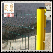 定做边框波浪形护栏网/公路边护栏防护网/桃形立柱护栏网厂家批发