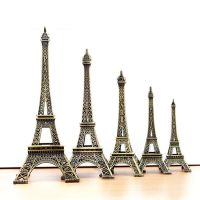 现货批发 巴黎埃菲尔铁塔 创意铁艺摆件 zakka拍摄道具金属工艺品