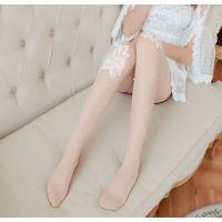 生产烫钻蕾丝珍珠手工点钻手工钉珠大花朵丝袜连裤袜绣花珍珠花型