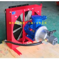 剑邑ELZX系列矿用防爆Exdi Mb减速机冷却系统散热系统_风冷式油冷却器