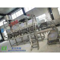 泡豆洗豆机哪有卖?适用于大型豆制品加工厂|宏大厂家泡豆系统