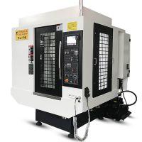 台捷立式钻攻加工中心T600新代三菱五轴联动钻攻机