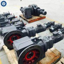 轴伸法兰式锥齿轮减速机,RXF157-1.63-132KW 农用机械专用减速机
