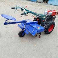 手扶柴油硬土耕田机 8马力小型家用手扶拖拉机