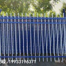 厂区学校栏杆 小区围墙防盗防护栏 恺嵘公园景区铁艺锌钢护栏厂家直销