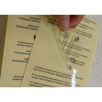 创美定制热缩袋专用贴纸不干胶标签