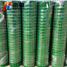 厂家现货 养鸡鸭鹅波浪护栏网 圈地铁丝网围栏 耐用草坪园林绿色荷兰网