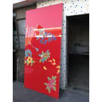 3D彩绘铝单板文化墙 2.5mm厚彩喷幕墙铝单板 拉伸网板吊顶遵循质量为先 欧百得