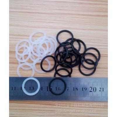 YF0628环保橡胶圈黑色防水圈透明硅胶圈