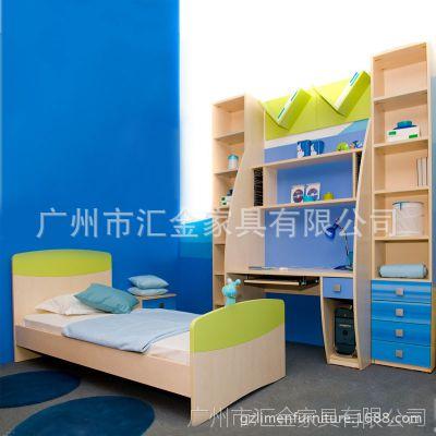 厂家直销儿童套房夹具儿童卧室子母床批发组合家具家居儿童床