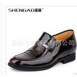 供应圣高新品男鞋男式增高鞋内增高皮鞋男士增高鞋男式正装皮鞋5215-1