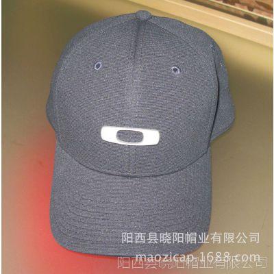 供应厂家定做楼梯布无后扣密封棒球帽 高档定型 高品质鸭舌帽 cap