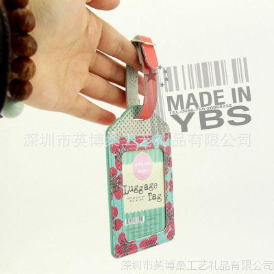【皮具生产产家】定制高档PU行李牌 高档皮具礼品 促销品